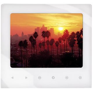"8,0""(20,32cm) Hama Digitaler Fotorahmen Slim Touch 800x600 256MB Weiß"