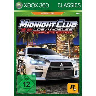 Midnight Club - Los Angeles Complete Edition (XBox360)