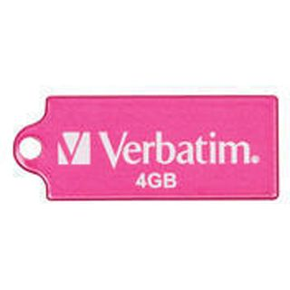 4 GB Verbatim Store `n` Go Micro pink USB 2.0