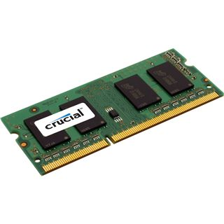 2GB Crucial Value DDR3-1066 SO-DIMM CL7 Single