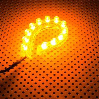 LAMPTRON FlexLight 12cm orange LED Kit für Gehäuse (LAMP-LEDFL1206)