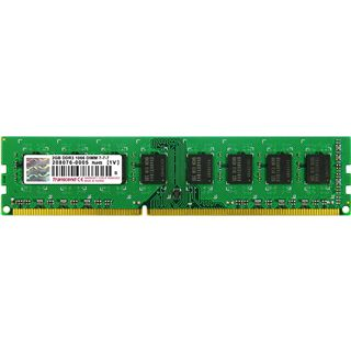 2GB Transcend Value DDR3-1066 DIMM CL7 Single