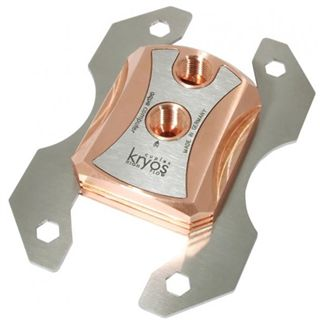 Aqua Computer Cuplex Kryos AMD Edelstahl/Kupfer CPU Kühler