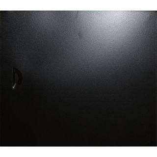 Tronje Gehäuse K-110A, Zubehör Sidepanel schwarz/silber