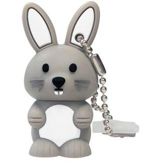 2 GB EMTEC M321 Bunny weiss USB 2.0