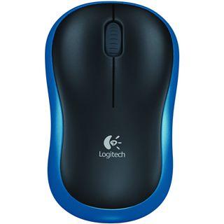Logitech M185 USB blau (kabellos)