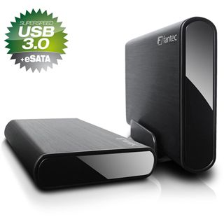 "2000GB Fantec DB-ALU3e 14793 3.5"" (8.9cm) USB 3.0/eSATA schwarz"