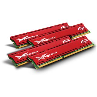 16GB TeamGroup Xtreem Vulcan DDR3-1600 DIMM CL9 Quad Kit