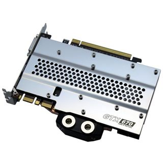 Watercool Heatkiller GPU 670 Backplate für NVIDIA GTX 670, 660Ti (16004)