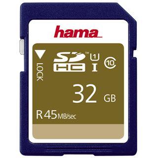 32 GB Hama UHS-I 45MB/s SDHC Class 10 Bulk