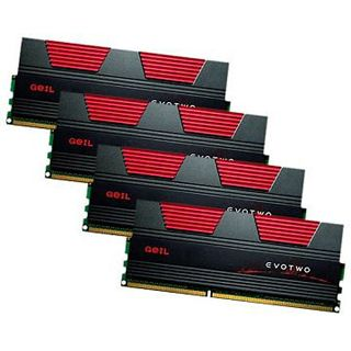 16GB GeIL EVO Two DDR3-1866 DIMM CL10 Quad Kit