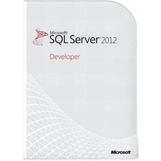 Microsoft SQL Server 2012 Developer Edition 64 Bit Englisch FPP 1 User