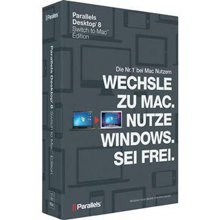 Parallels Desktop 8.0 Switch to Mac Edition Deutsch Office Vollversion Mac (DVD)
