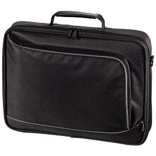"""Hama Notebook-Tasche Sportsline Bordeaux, bis 15,6"""" (39,62cm), Schwarz"""