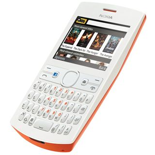 Nokia Asha 205 Dual SIM 64 MB weiß/orange