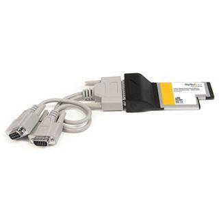 Startech EC2S55254 2 Port Express Card 54 retail