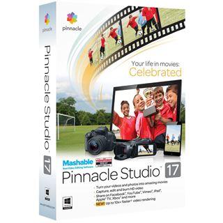Corel Pinnacle Studio 17.0 32/64 Bit Deutsch Videosoftware Vollversion PC (DVD)
