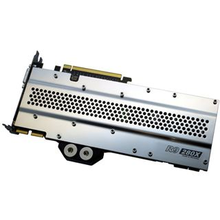 Watercool Heatkiller GPU Backplate 280X Backplate für Radeon R9 280X und HD7970 (16009)
