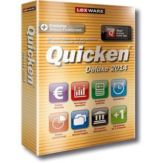Lexware Quicken Deluxe 2014 - Vorteilsedition Deutsch Finanzen Vollversion PC (CD)