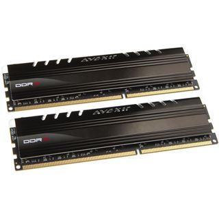 8GB Avexir Core Series grüne LED DDR3-2400 DIMM CL11 Dual Kit