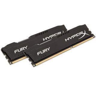 16GB HyperX FURY schwarz DDR3-1333 DIMM CL9 Dual Kit