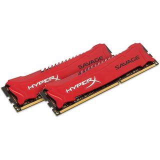 8GB HyperX Savage rot DDR3-2133 DIMM CL11 Dual Kit
